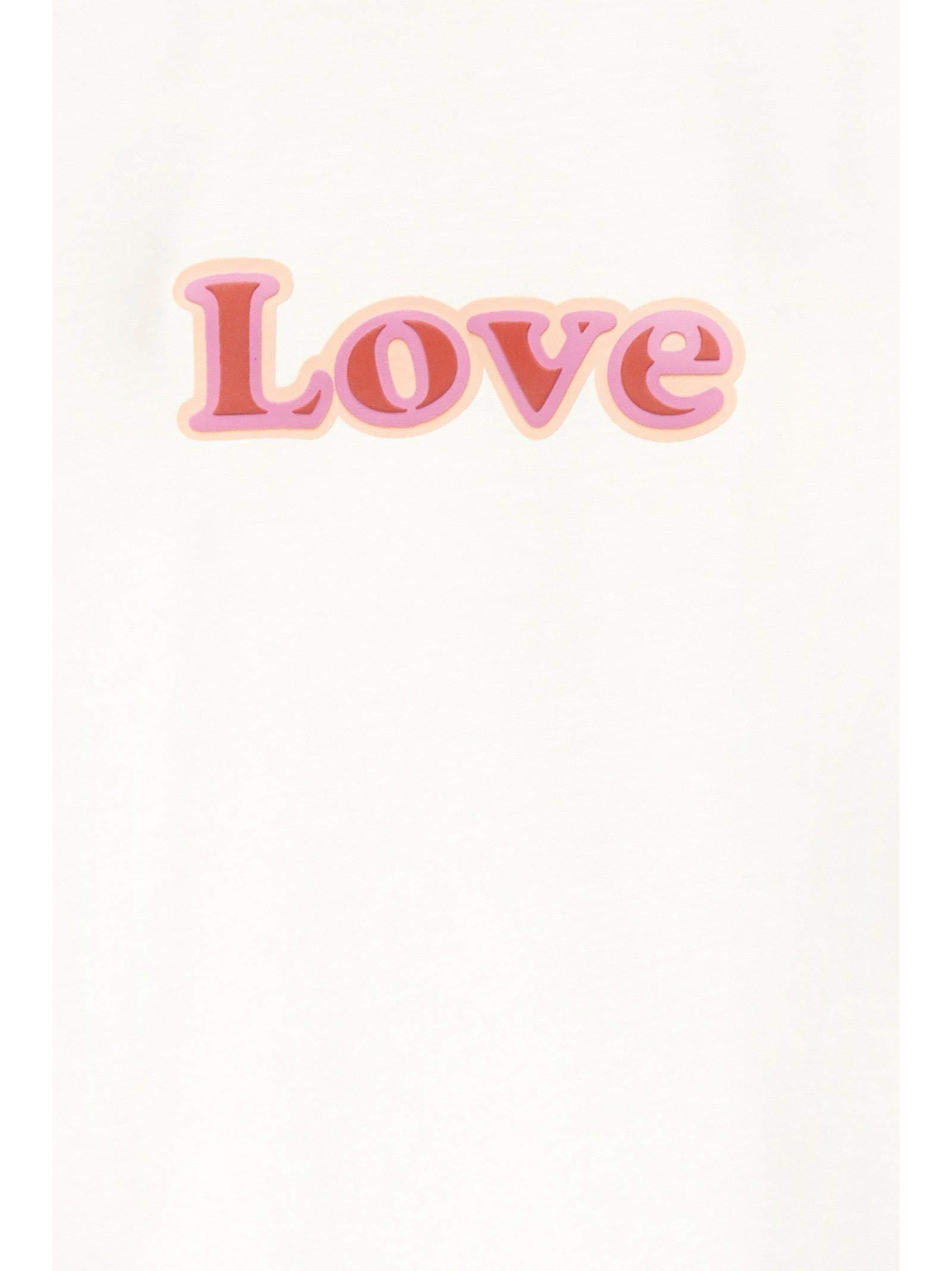 Chloé Girls C15a61117 White Cotton T-Shirt by Chloé (Image #3)
