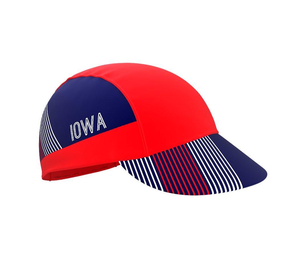 Iowa Bike Cycling Cap