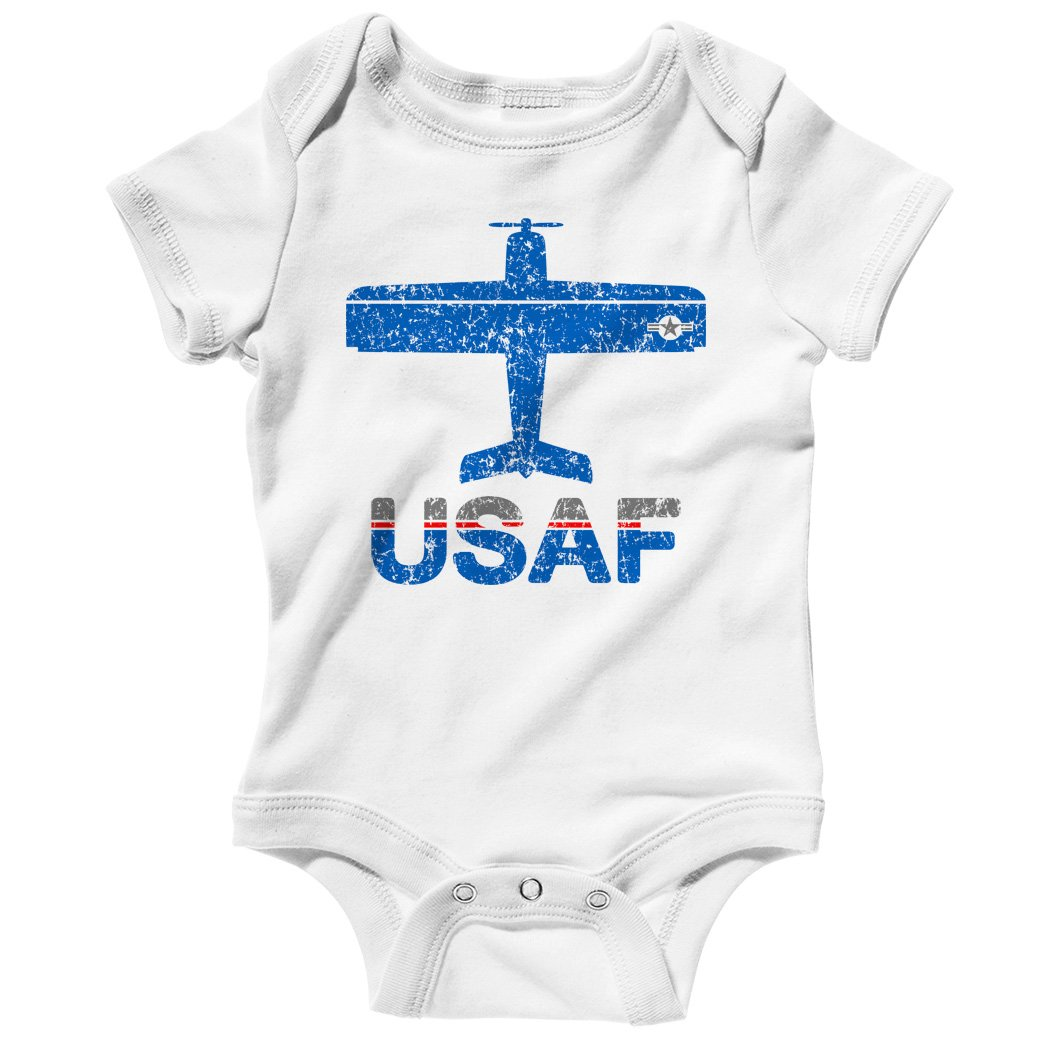 Smash Transit Baby Fly USAF Air Force Creeper