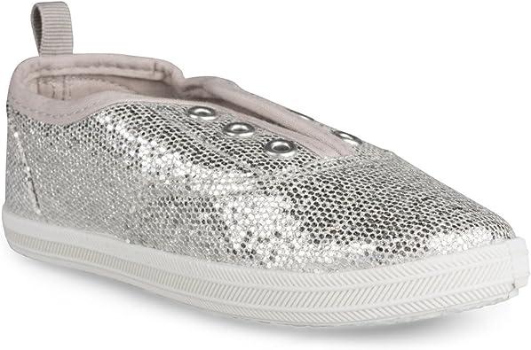 Bling Glam Tennis Shoes for Little Kids