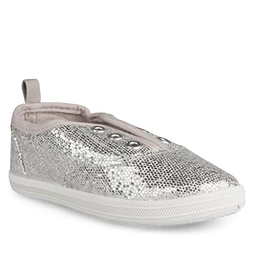 fd1959241976e Sugar & Spice Girls Sneakers: Lace-Less Bling Glam Tennis Shoes for Little  Kids