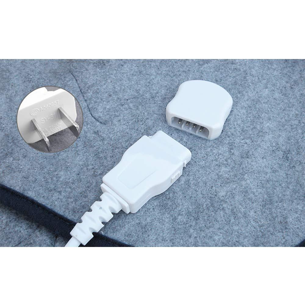 Manta Eléctrica De Control Individual Persona Dormitorio Dormitorio Cama Seguridad Impermeable No Tejida Pinzas Eléctricas (150 * 75 Cm): Amazon.es: ...