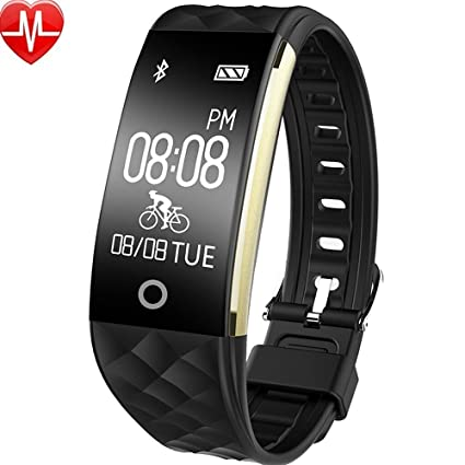 Amazon.com : Fitness Trackers, TPU Band ABS Material Heart ...