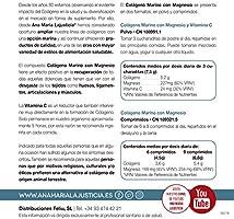 Ana Maria Lajusticia - Colágeno marino con magnesio y VIT C - 350 ...