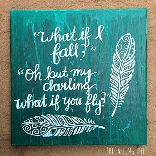 Inspirational Hand Painted Canvas Wall Art