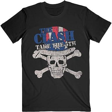 Rock Off The Clash Take The Fifth Oficial Camiseta para Hombre: Amazon.es: Ropa y accesorios
