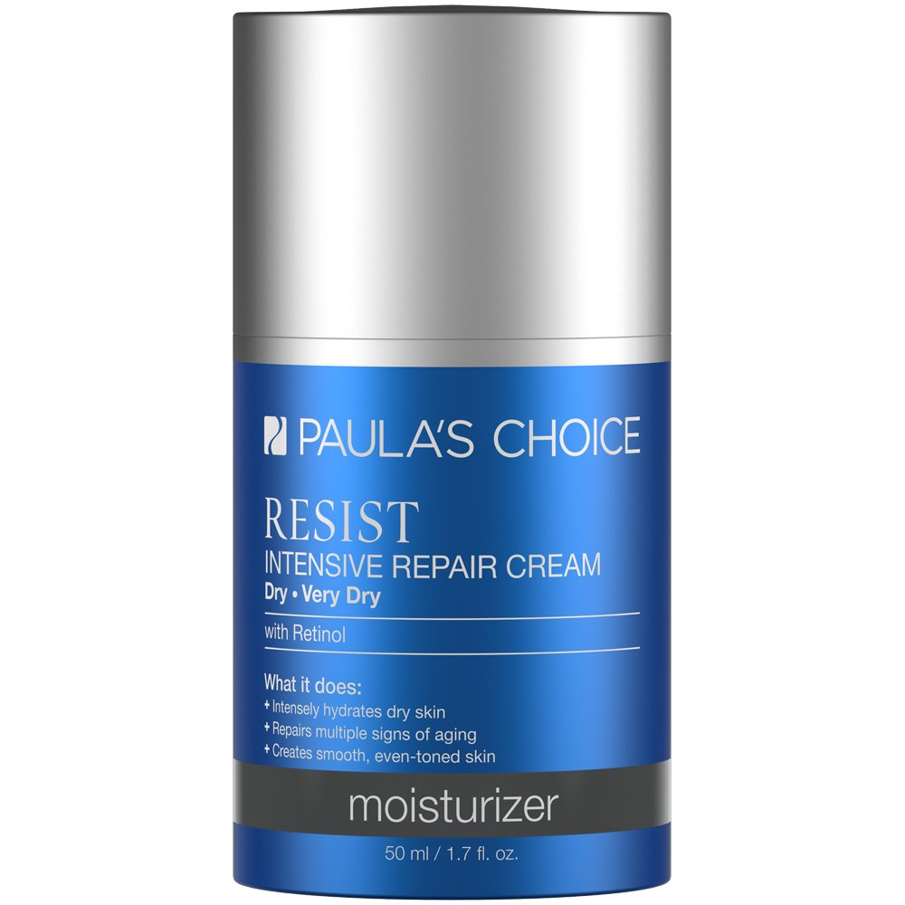 Paula's Choice-RESIST Intensive Repair Cream-Anti-Aging Moisturizing Face Cream-For Normal, Dry, and Very Dry Skin-1-1.7 oz Bottle