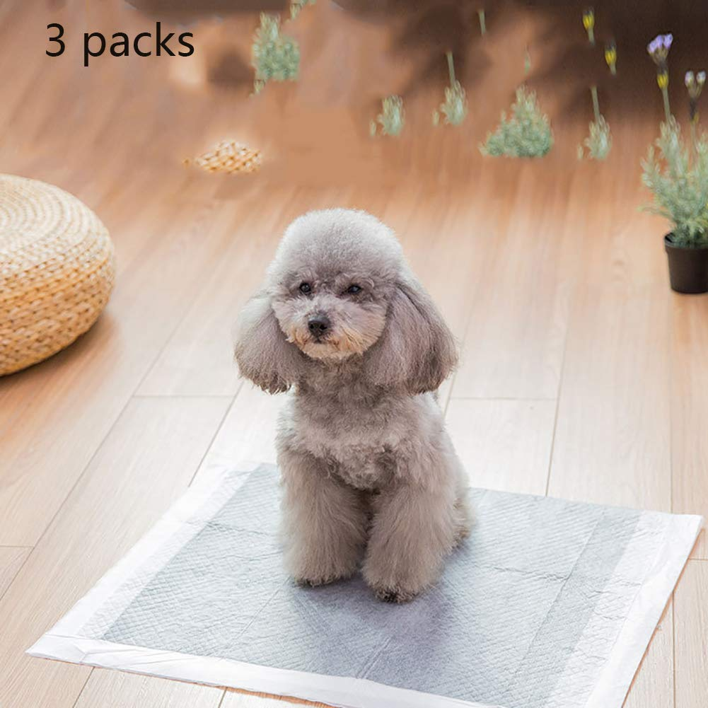 使い捨て犬パッケージ、シンプルなソリューションスーパー吸収ペットケア腹巻き活性炭高吸水漏れ防止フィット2パック B07R44D8QH  XL