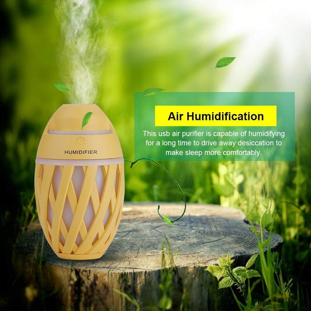 Purificador de aire USB, mini purificador de aire en forma de ...