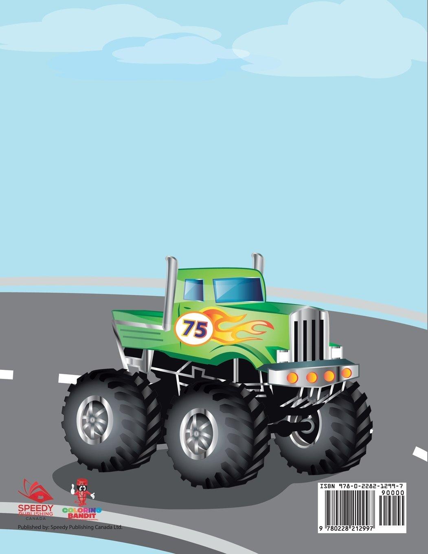 Coloriage Gros Camion.Gros Camion Derby Livre De Coloriage Prescolaire Pour Les Enfants