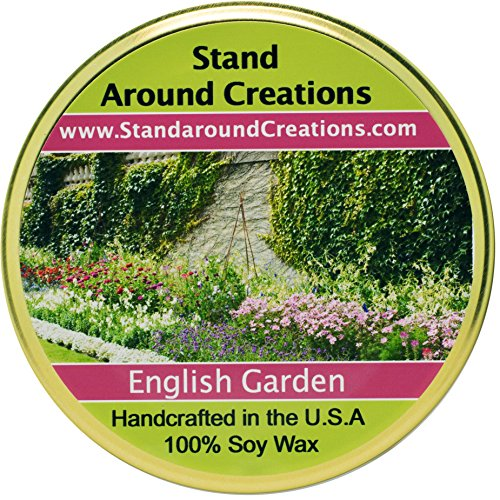 Premium 100% Soy Tureen Candle - 11 oz. - English Garden - Notes of lily, lilac, rose & hyacinth stand out in this must have fragrance for floral lovers. Made ()