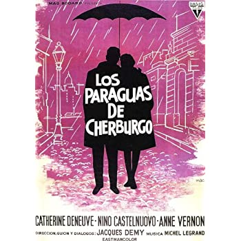 The Umbrellas of Cherbourg (Spanish) 11x17 Movie Poster (1964)