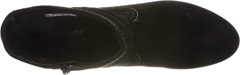 Tamaris 1-1-25006-23, Botines Femme Noir Black 1