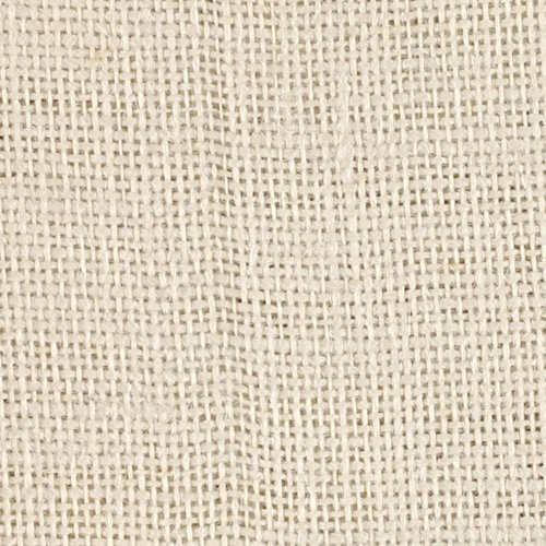 Cennagi Fabrics Burlap Ivory Fabric The Yard, Ivory