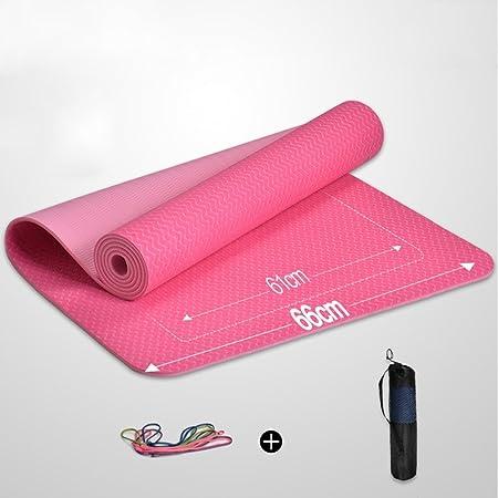 OIBHFO Home Alfombra de Yoga para Principiantes Estera de ...
