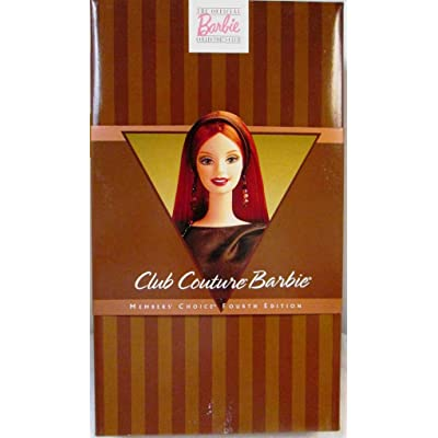 Mattel Club Couture Barbie Doll Collectors Club Exclusive by Barbie: Toys & Games