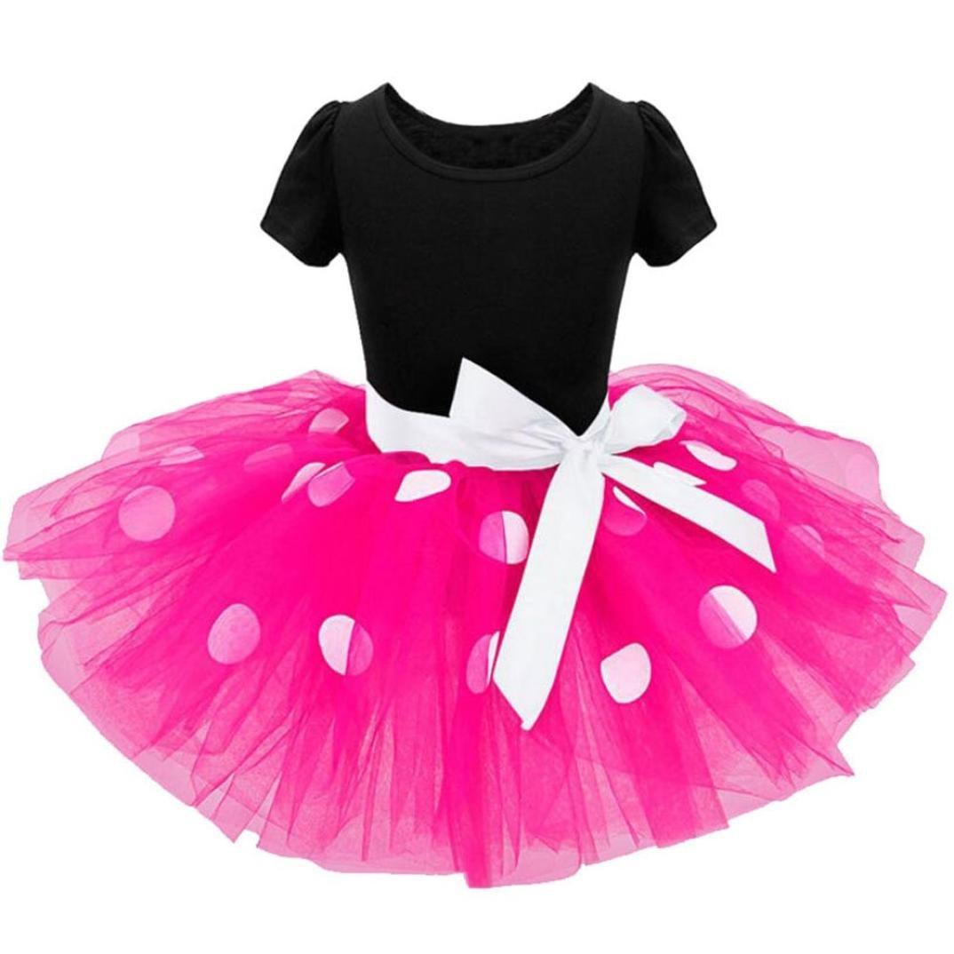 Vestido de fiesta para niñas Ropa para niños pequeños Vestido de ...