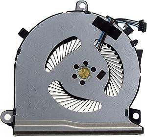 Rangale CPU or GPU Cooling Fan Replacement for HP Pavilion Gaming 15-EC 15-EC0013DX 15-EC0751MS 15-EC0054AX 15-EC0057AX 15-EC0010NR 15-EC0075AX 15-EC0078AX 15-EC0001NE Series Laptop L77560-001