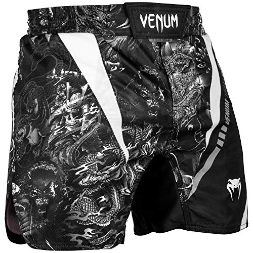 Venum Fight Shorts Art - for Men - Cage Fight BJJ No-Gi Boxing MMA Fitness-XL Shorts for Men - Martial Art MMA UFC BJJ
