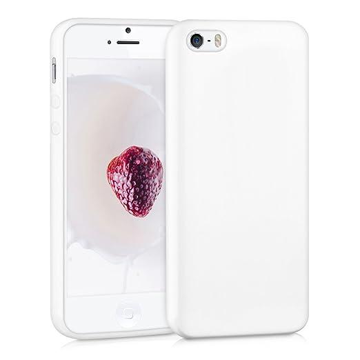 449 opinioni per kwmobile Cover per Apple iPhone SE / 5 / 5S- Custodia in silicone TPU- Back case