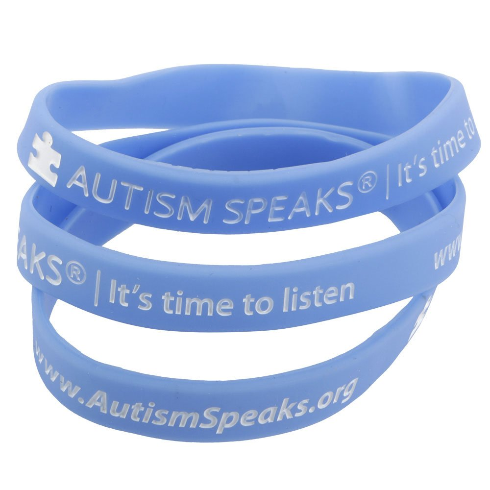 Autism Speaks Official Awareness Wristbands (bag/10) by Autism Speaks (Image #1)