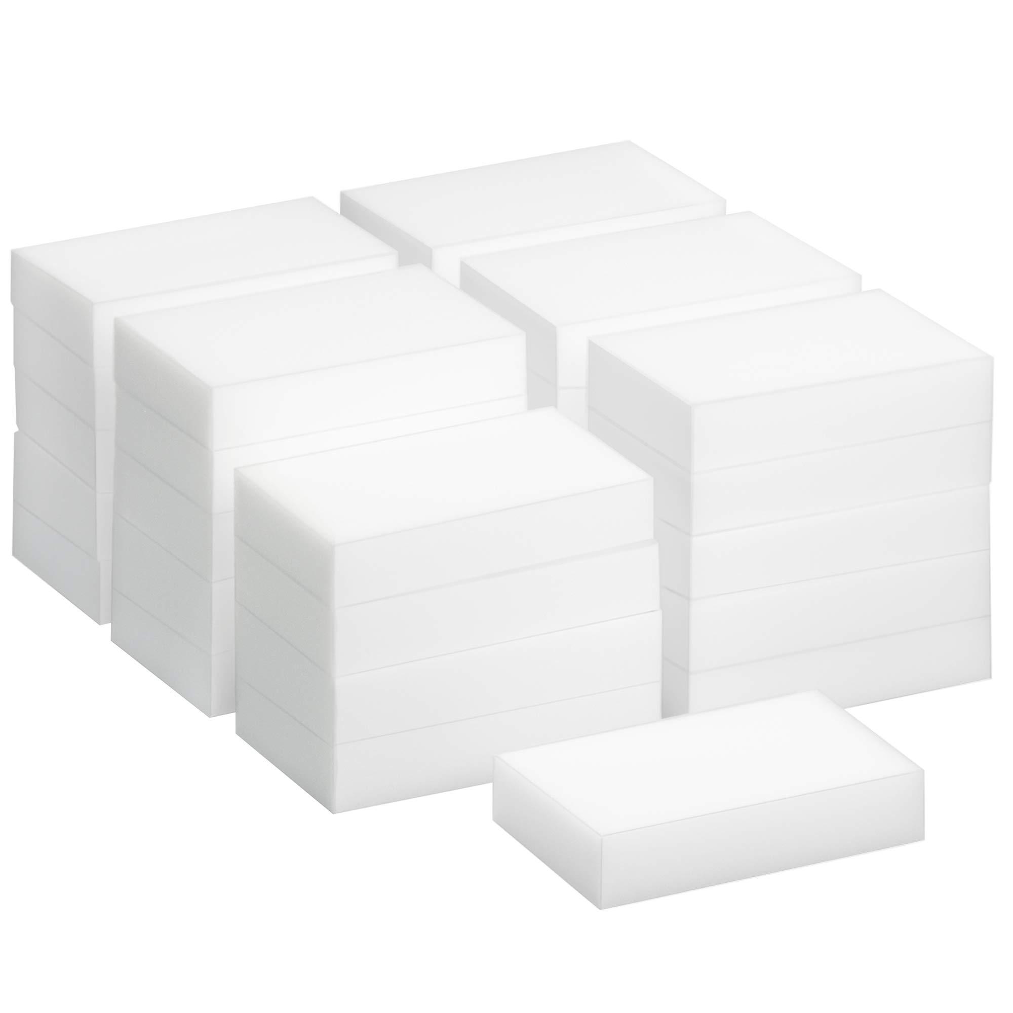TRIXES 30 Pack de Esponjas Mágicas de Limpieza - Borrador Mágico Almohadilla Quita Manchas - Natural