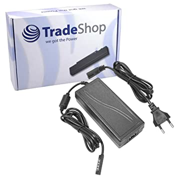 Trade de Shop Cargador 12 V/3,6 a para Microsoft Surface Pro, Surface Pro 2, Surface RT Tablet PC