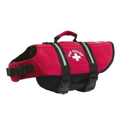 Travelin K9 Premium Red Neoprene Dog Life Jacket