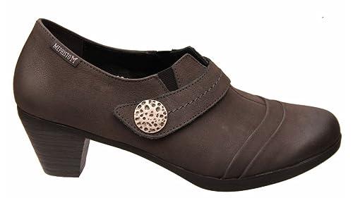 Planos Talla Color 39 Mephisto Con Cordones Gris Zapatos 5 Mujer 0qFa51