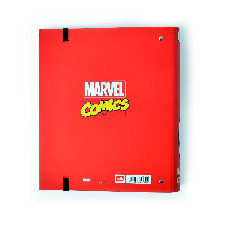 Grupo Erik Editores Carpeta 4 Anillas Troquelada Premium Marvel Comics: Amazon.es: Oficina y papelería