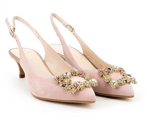 separation shoes 51cd5 452b9 lodi Scarpe col Tacco Donna Rose: Amazon.it: Scarpe e borse