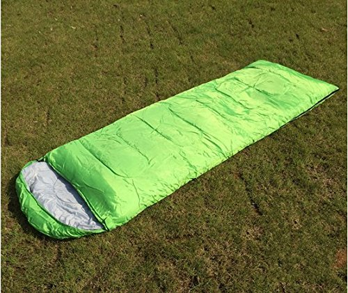 Mtef コンパクト エンベロープタイプ スリーピングバッグ 封筒型 寝袋 春用 夏用 秋用 最低使用温度5度 軽量 スリーピングパッド 旅行キャンプ 野外活動 ハイキングのために 収納袋付き B06XT7KV5K グリーン グリーン