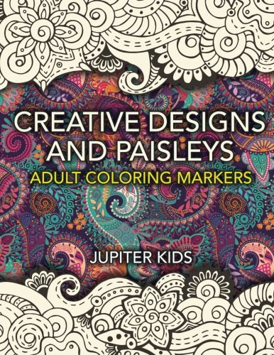 Creative Designs Paisleys Coloring Markers