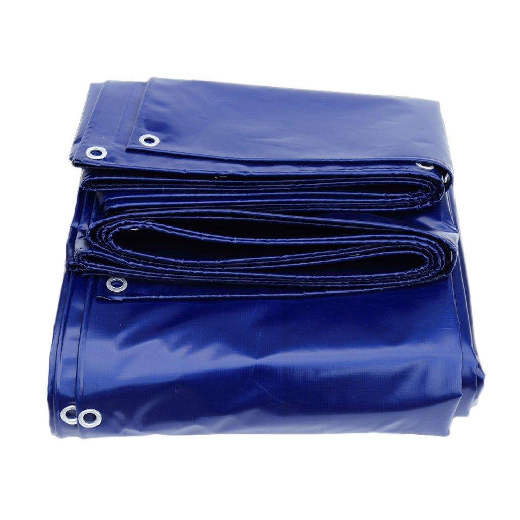 トラック防水布屋外防水日焼け止めターポリン B07FK8B7P9 2*3M|Blue Blue 2*3M