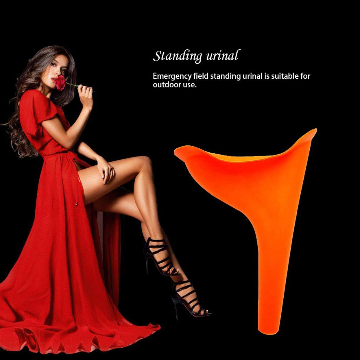 Detectorcatty Urinal Private Parts Nursing Outdoor Female Emergency Field Standing Urinal