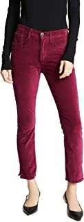 product image for 3x1 Women's W3 Velvet Higher Ground Mini Split Jeans