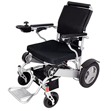 BEIZ Folding Power Wheelchair With Battery-D09 Lightweight Mobility Electric Wheelchair-Best Easy Carry  sc 1 st  Amazon.com & Amazon.com: BEIZ Folding Power Wheelchair With Battery-D09 ...