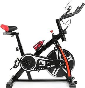 Turefans Bicicleta Spinning,Volante de inercia 22kg, con Pantalla ...