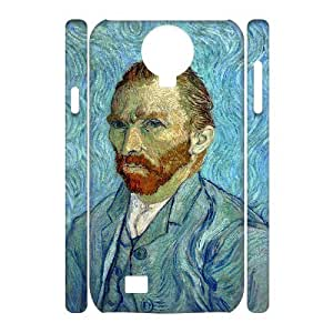 case Of Vincent Van Gogh 3D Bumper Plastic Cell phone Case For Samsung Galaxy S4 i9500