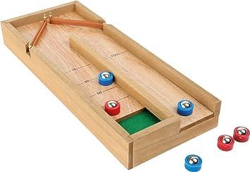 Mini Shuffleboard Table Game