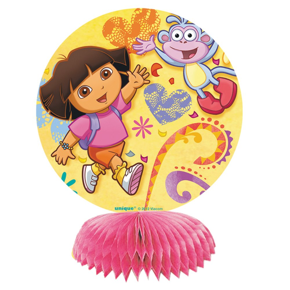 Dora The Explorer Party Decoration Kit, 7pc set: Amazon.in: Home ...