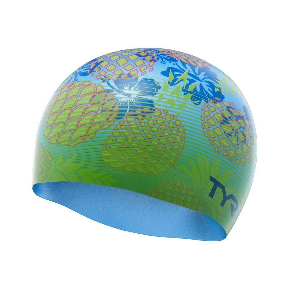 a58293125bf Amazon.com : TYR Pineapple Fade Silicone Swim Cap : Sports & Outdoors