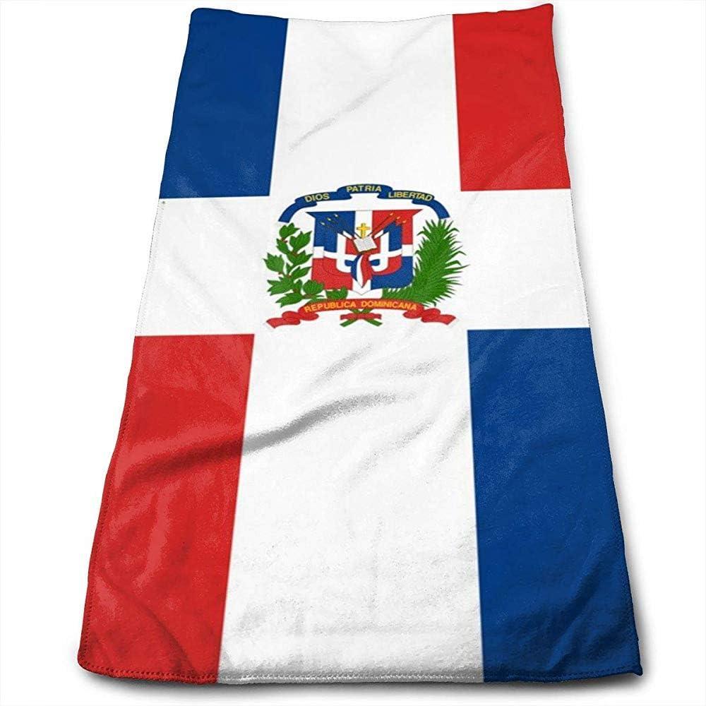 Toallas De Playa,Toallas De Playa para Mujer, Bandera De República Dominicana para La Decoración del Hogar: Amazon.es: Hogar