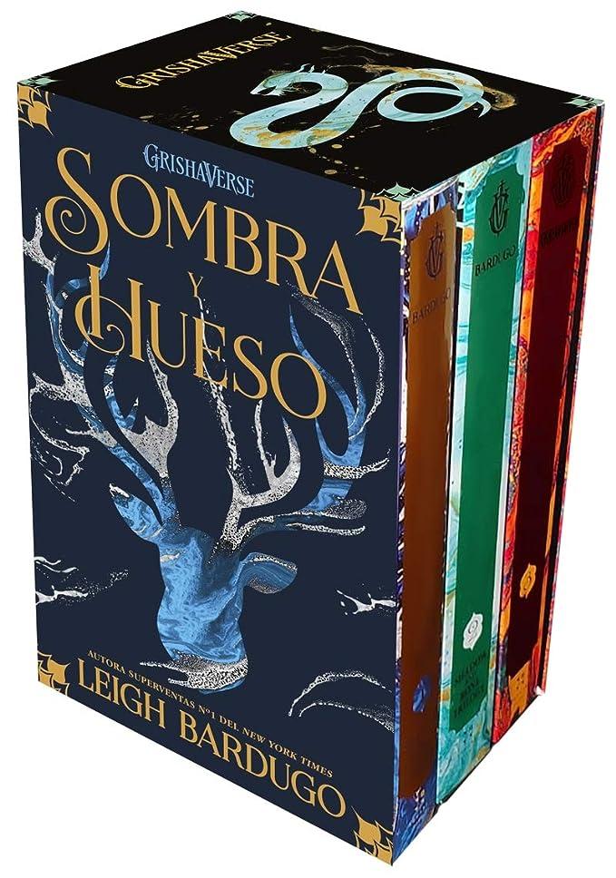 Estuche especial trilogía sombra y hueso: Grishaverse, trilogía Sombra y hueso completa