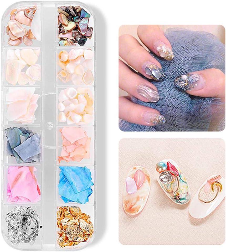 Nail Art 3D Demaxy diamantes de imitación Decoración, Uñas ...