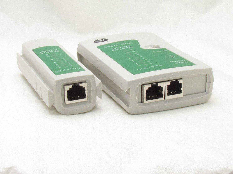 Network LAN Cable Tester Test RJ45 RJ-11 CAT5 UTP Ethernet Tool Cat5 6 E RJ11 8P