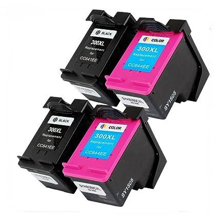 Ouguan - Cartuchos de Tinta para HP Deskjet F4580 F2480 F4280 ...