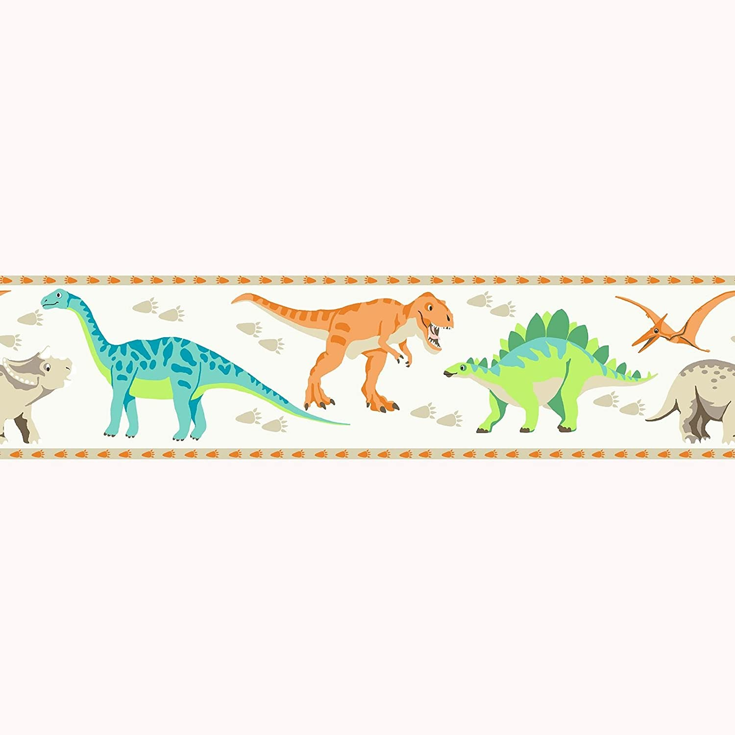 Dinosaur World Wallpaper Border - A13101 - Price Right Home Exclusive Design Direct Wallpapers