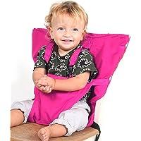 Pueri–Chaise Haute pour bébé–Harnais d'alimentation pour Rehausseur de sangle Ceinture harnais de sécurité de voyage portable Chaise haute Housse de siège pour bébé Kid pour enfant