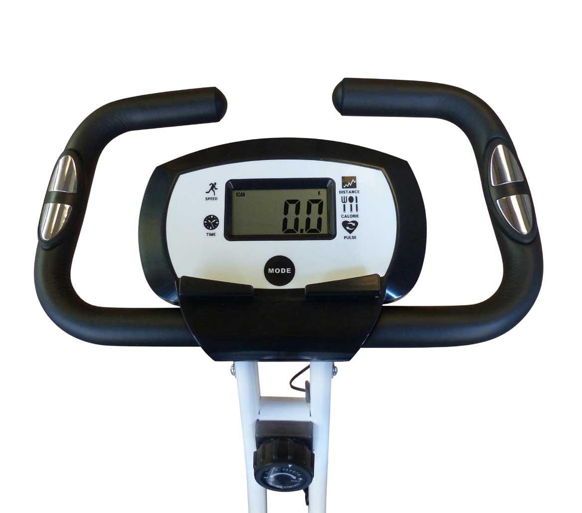 Bicicleta estática Vi-trek plegable/portátil con pulsómetro: Amazon.es: Deportes y aire libre